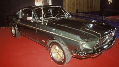 Steve McQueen's 'Bullitt' Mustang sold for $3.4 million at auction