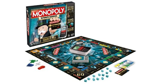 Bye, bye, banker: New Monopoly game goes cashless with electronic payments