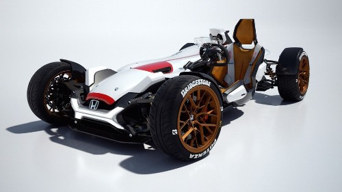 Honda's Project 2&4 puts the thrill of a motorcycle on 4 wheels