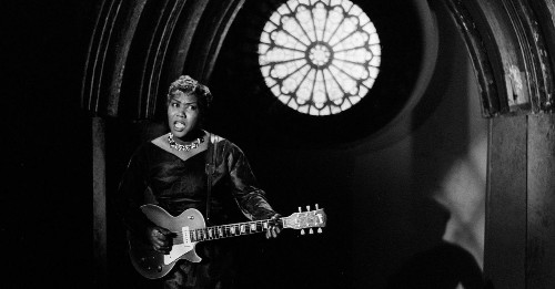 The gospel-singing, guitar-shredding woman who invented rock and roll