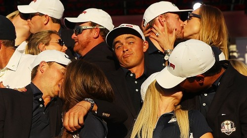 Perfect photo of Rickie Fowler proves the single life's not so bad
