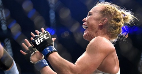 Holly Holm started with aerobics, wound up whipping Ronda Rousey