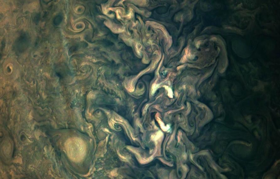 NASA's New Jupiter Image Is Stunning!