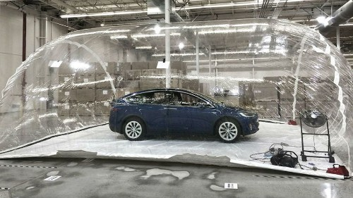 Tesla tested Model X's Bioweapon Defense Mode, and it performed admirably