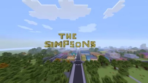 D'oh yeah! 'Simpsons' fan recreates opening sequence in Minecraft