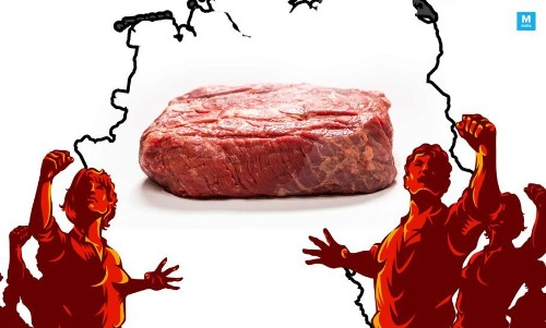 North Indians Protest Against Serving Beef In Germany. Authorities Remind Them It Isn't Their Country!