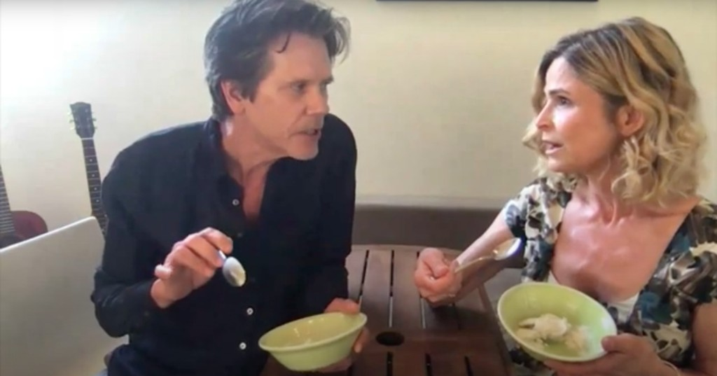 Kevin Bacon and Kyra Sedgwick fight over ice cream in hilariously relatable sketch