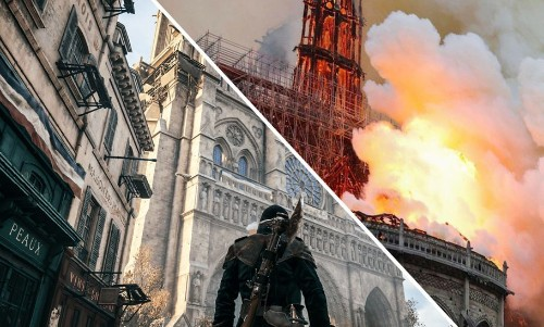 Video Game Designs So Accurate, They Can Restore the Notre Dame (And Entire Cities Too!)