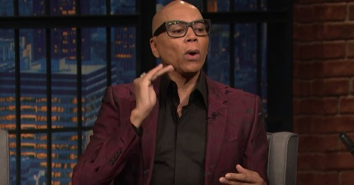 RuPaul shares the inspiration behind his drag persona
