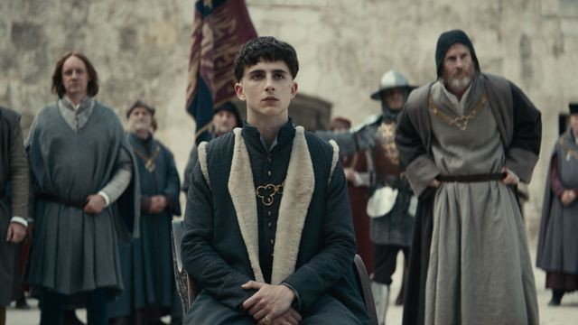Timothée Chalamet is a reluctant ruler in the first Netflix trailer for 'The King'