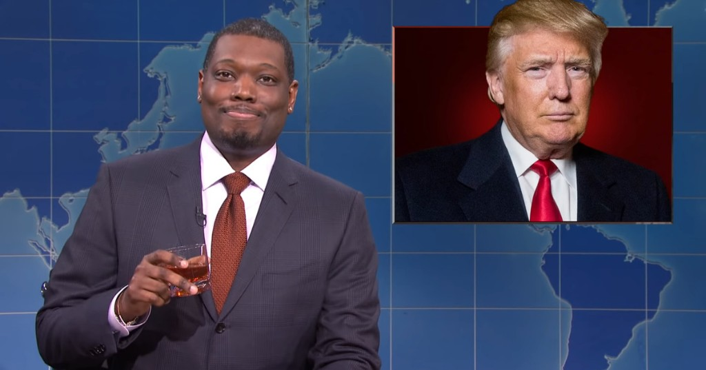 'SNL' Weekend Update puts Trump's insignificance into perspective