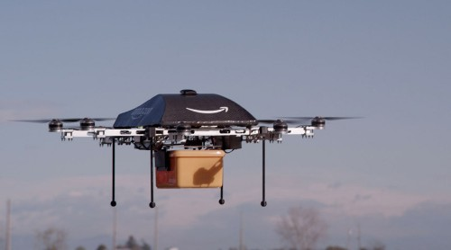 Amazon Unveils Flying Delivery Drones on '60 Minutes'
