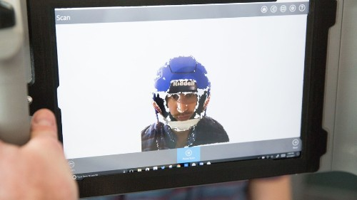 One of football's biggest names turns to 3D scanning tech for safer helmets
