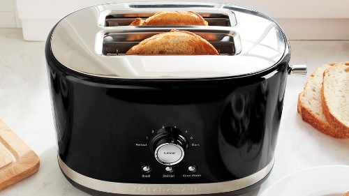 Crappy toaster troubles? This one from KitchenAid has cooking presets and is $40 off at Walmart.