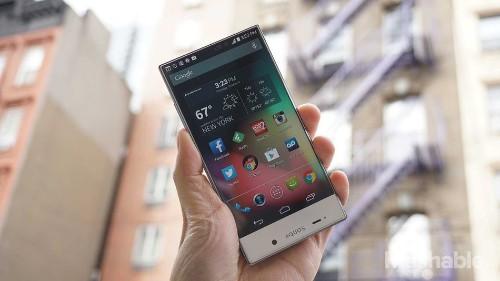 Sharp Aquos Crystal: The future of smartphones looks like this