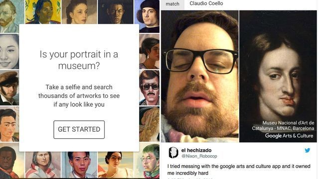 This app tells you which museum art you look like and it's way too real