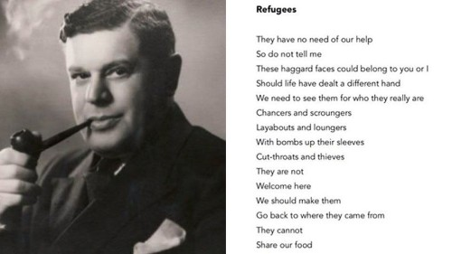 This poem about refugees has a powerful hidden message