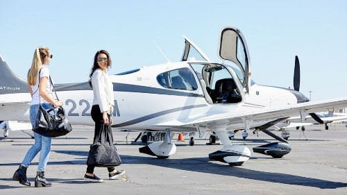 This flight-sharing service is like Uber Pool for private planes