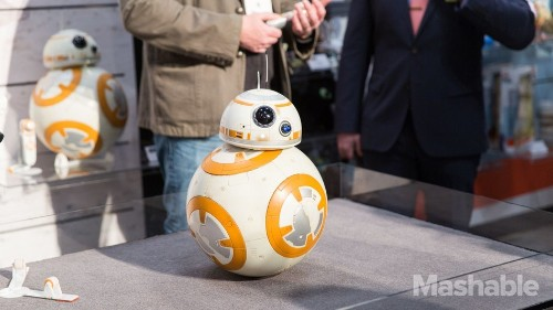 The life-size BB-8 is real and you can get one this year