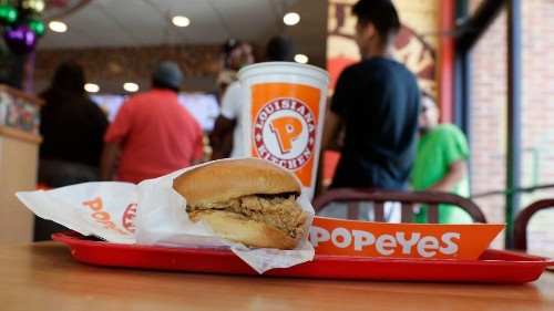 Popeyes chicken sandwich is back and people are officially freaking out