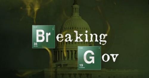 Stephen Colbert Links Government Shutdown to 'Breaking Bad'