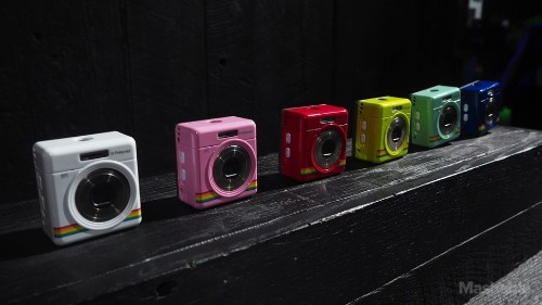 The iZone is another absolutely adorable camera from Polaroid