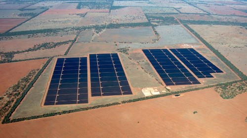 Australia's largest solar plants are open for business