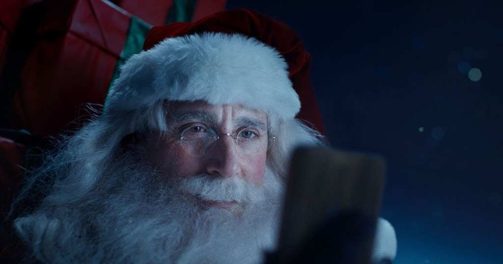 Steve Carell is a stress-eating Santa in sweet commercial for grinchy Xfinity