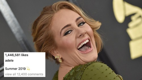 Adele only needs 1 Instagram post to prove she's having a better summer than you