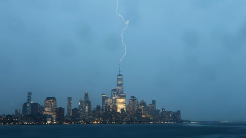 Watch this terrifying and beautiful time-lapse of a stormy New York City