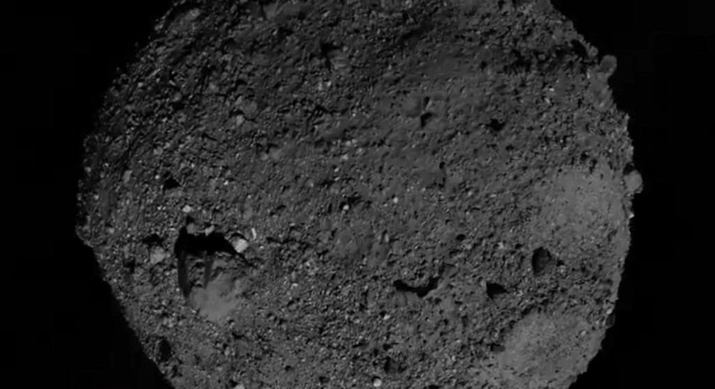 Watch a NASA spacecraft touch down on asteroid Bennu