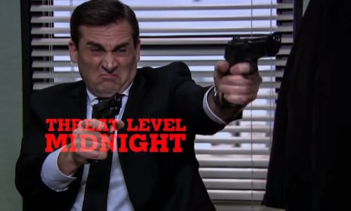 'The Office' Releases 'Threat Level Midnight' As a Separate Movie To Help You Deal With the Series' Netflix Exit