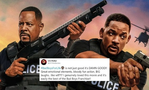 'Bad Boys For Life' Early Twitter Reactions: Will Smith And Martin Lawrence Are A Blast, Again! - Entertainment