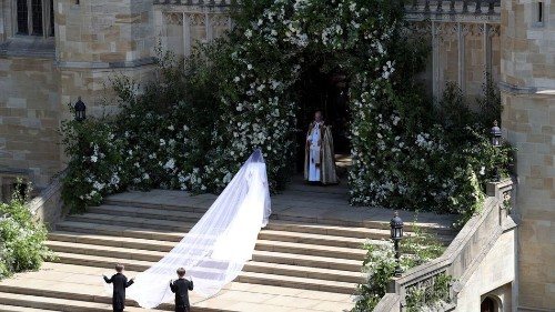 These photos of Meghan Markle in her wedding dress will make you audibly gasp