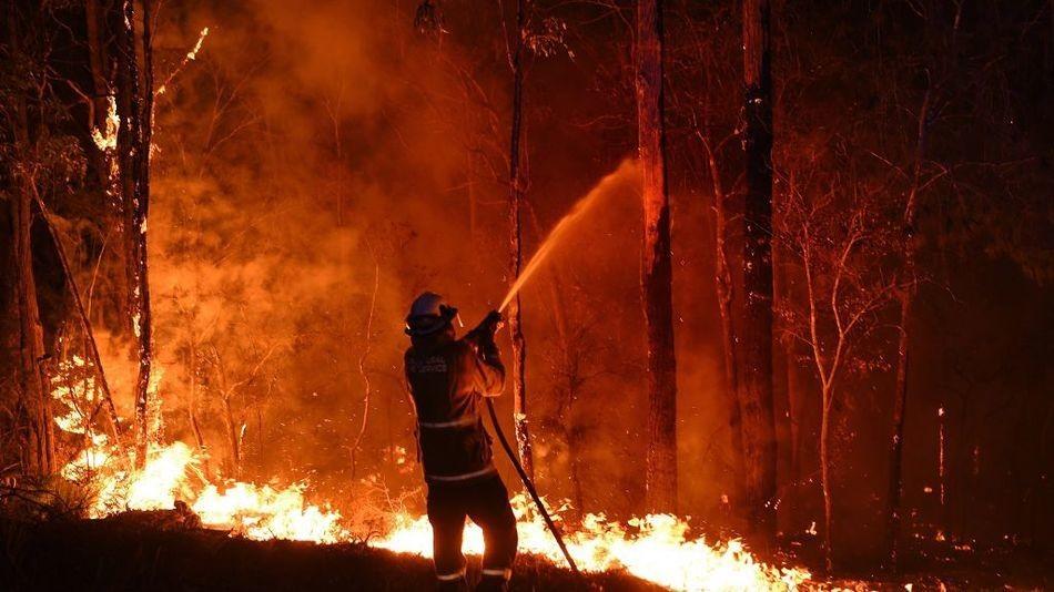 Australia Bushfires - cover