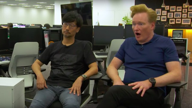 """Conan talks 'Death Stranding' with Hideo Kojima: """"What is wrong with you?"""""""