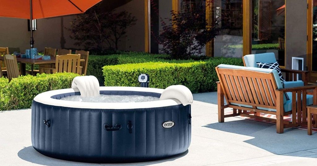 Inflatable Hot Tubs + 15 More Backyard Essentials for the Ultimate Summer - cover