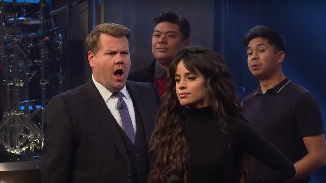James Corden goes head-to-head with Camila Cabello in glorious 1999 vs. 2019 riff-off