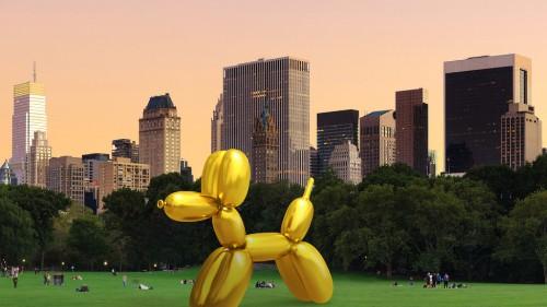 Artist digitally vandalizes Snapchat's AR balloon dog in protest