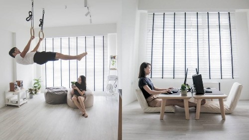 This Singaporean couple turned their small flat into a minimalist's dream home - Culture