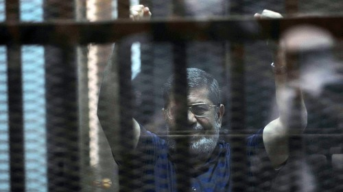 Egypt's first freely elected president is sentenced to death