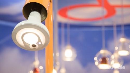 These lightbulbs boost Wi-Fi, catch burglars