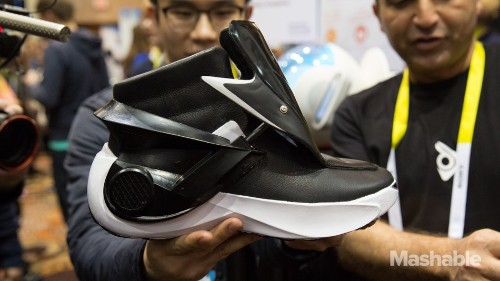 You can control the temperature in these 'smart' shoes