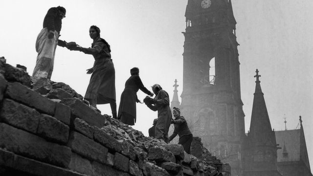 How people rebuilt after the horrific firebombing of Dresden