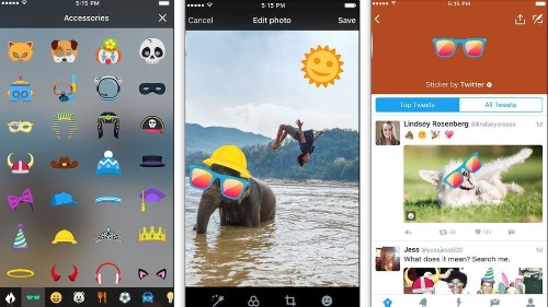 Twitter introduces #Stickers, giving your timeline a taste of Snapchat