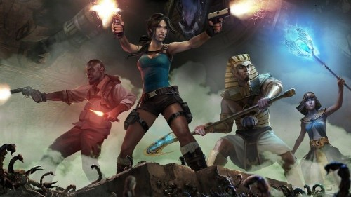Lara Croft Teams Up With Gods in Download-Only Arcade Title