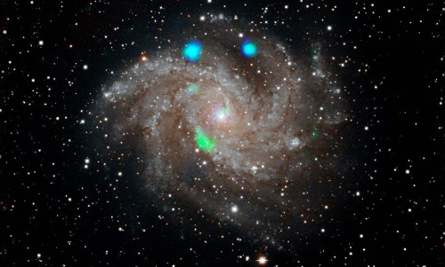NASA Satellite Captures Breathtaking Pyrotechnics Display By The 'Fireworks' Galaxy