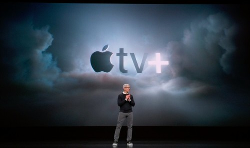 Apple takes on Netflix and Amazon with new TV+ video streaming service - Tech