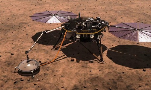 NASA's InSight Detected Some Unusual Magnetic Pulses On Mars