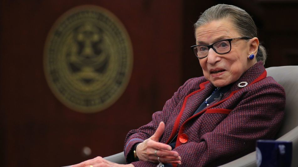 Ruth Bader Ginsburg's best pop culture moments